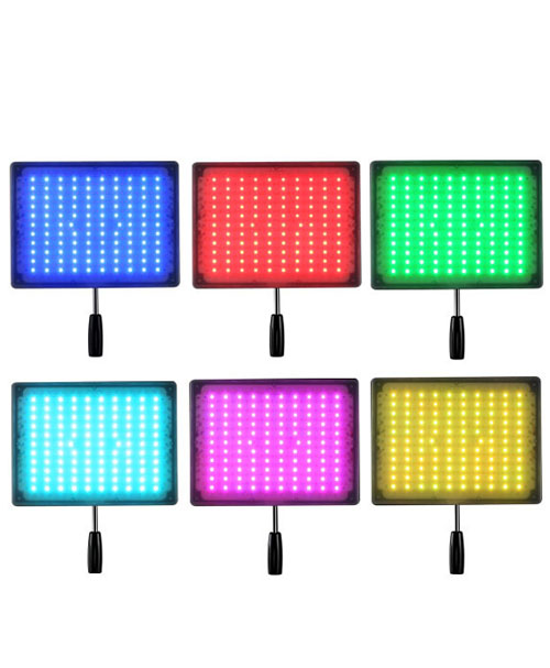 YN600RGB LÁMPARA LED
